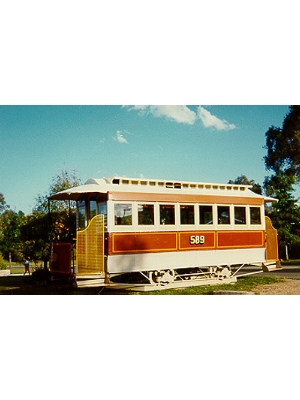 Melbourne Cable Car Trailer