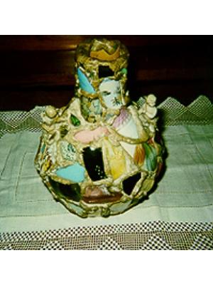Homemade Mosaic Vase