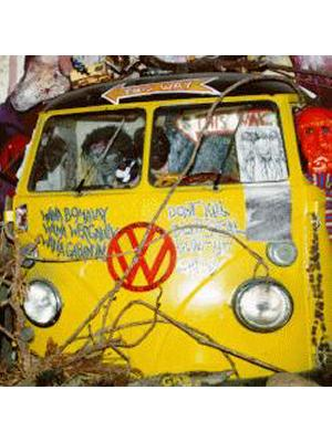 Kombi Vans Retrieved from Lantana Patches on Original Hippy Communes