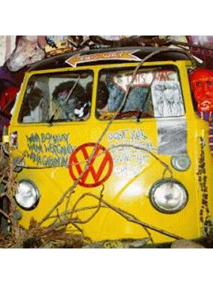 Kombi Vans Retrieved from Lantana Patches on Original Hippy Communes