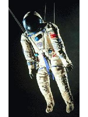 Sokol KV-2 Spacesuit from Soyuz TM-10