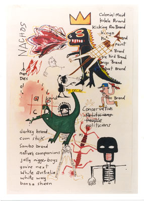 Notes to Basquiat: Mr Decay