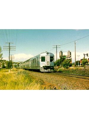 Silver City Comet Train Set