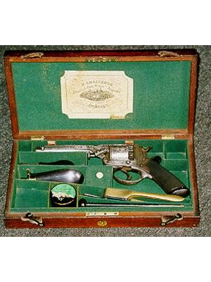 Five shot revolver