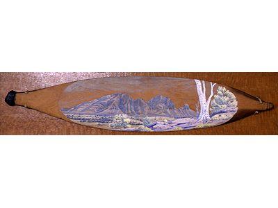 Landscape painted Woomera