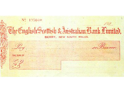 Cheque and Butter Factory Label Block