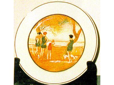 Plate, Pottery