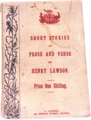 Rare copy of Lawson's 'Short Stories in Prose and Verse'