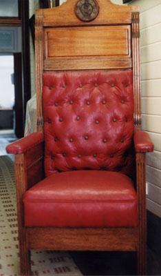 Mayor's chair