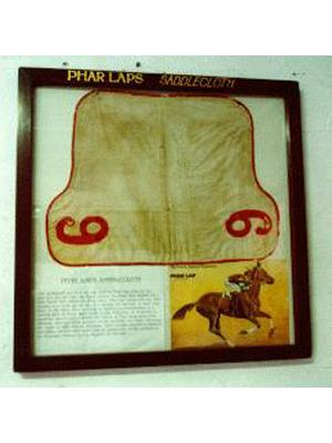 Phar Lap's Saddlecloth