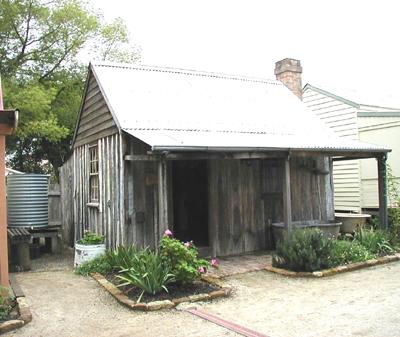 Slab hut