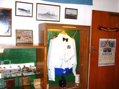 Naval officer's dress uniform