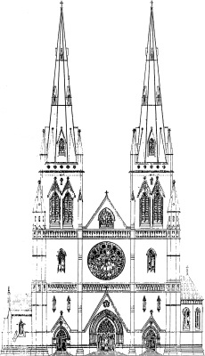 Cathedral Plans and Drawings