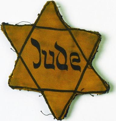 """Yellow """"Jude"""" star"""