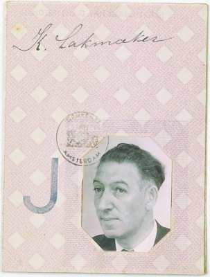 ID Card from Karel Lakmaker