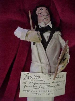 """""""Prattie"""" artist doll"""