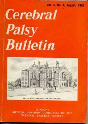 Cerebral Palsy Bulletin