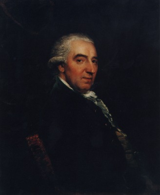 Portrait of Dr Francis Robert Tomkins