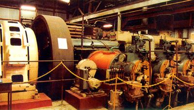 Crossley-Premier Gas Engine - General Electric Alternator