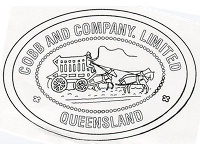Cobb and Co. Stamp