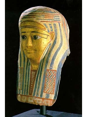 Cartonnage Mask of a Woman