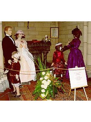 Ladies' Costumes; Children's Clothing; Christening Robe circa 1890s