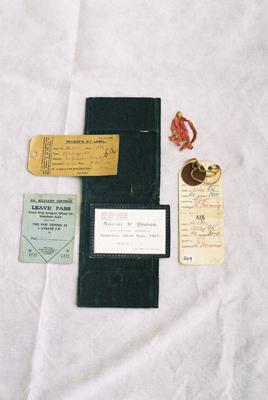 Soldier's Wallet - WWI