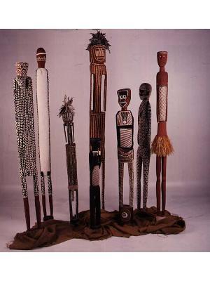 Spirit Sculptures from Maningrida