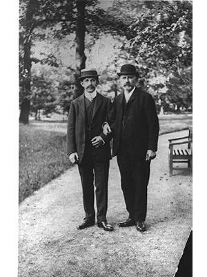 Anton Brienl and Father