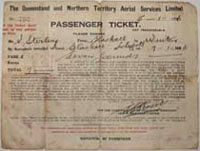 QANTAS Passenger ticket no. 790