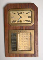 Long-service award - clock/calendar