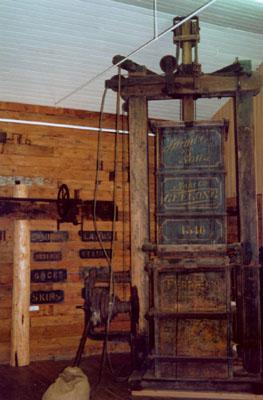 Ferrier's Wool Press