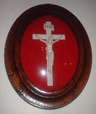 An ivory crucifix
