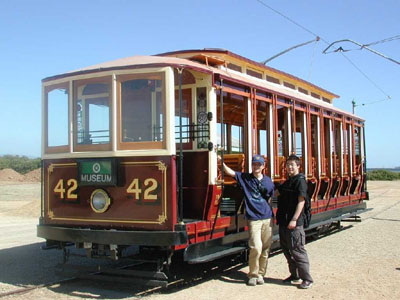 Toastrack' Tram No. 42