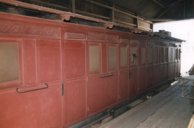SA Railway Carriage No. 229