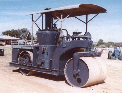 Vertical Boiler Tandem Roller