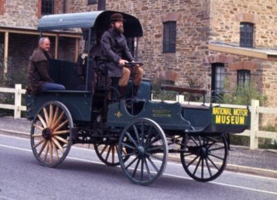 Shearer Steam Carriage