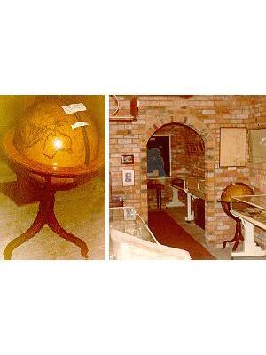 Terrestrial and Celestrial Globes
