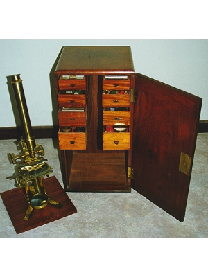 Monocular microscope and accessories
