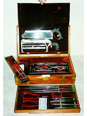 Cased Set of Surgical Instruments