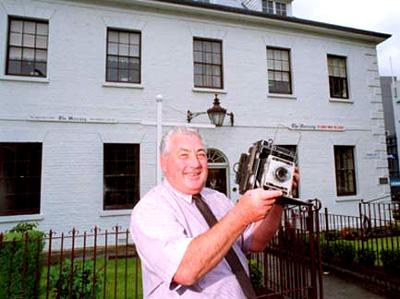 Speedgraphic newsman's camera