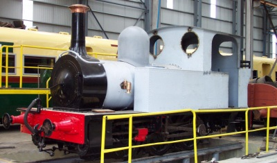 Fowler 0-6-OT Locomotive