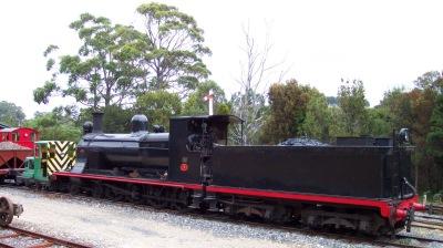 Dubs 4-8-0 Locomotive Heemskirk