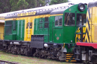 "Diesel Electric Bo- Bo Locomotive ""X4"""