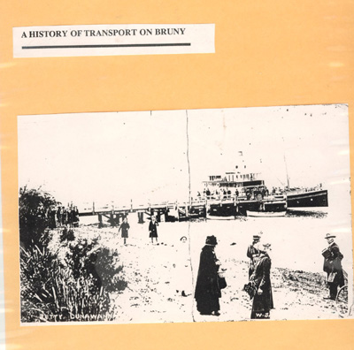 A History of Transport on Bruny Island