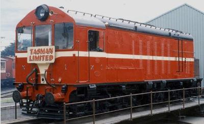Locomotive - T.G.R. No. X1