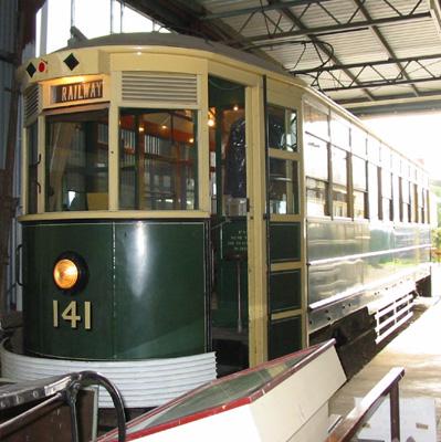 Single deck bogie tram - MTT No. 141