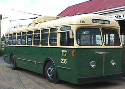 Trolley Bus - B.U.T. Type - No. MTT 235