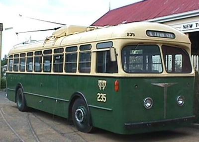 Trolley Bus - B.U.T. Type - No. MTT 235
