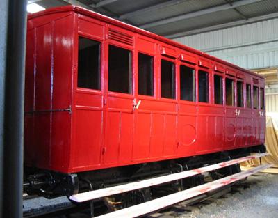 Six wheeled passenger coach - LWR No. AB1